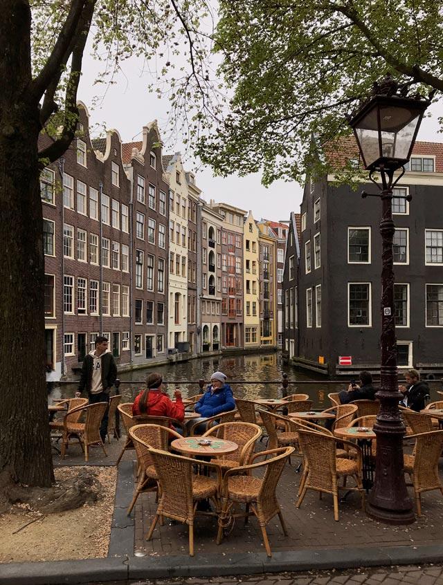 Amsterdam è senza dubbio una delle città più belle d'Europa.