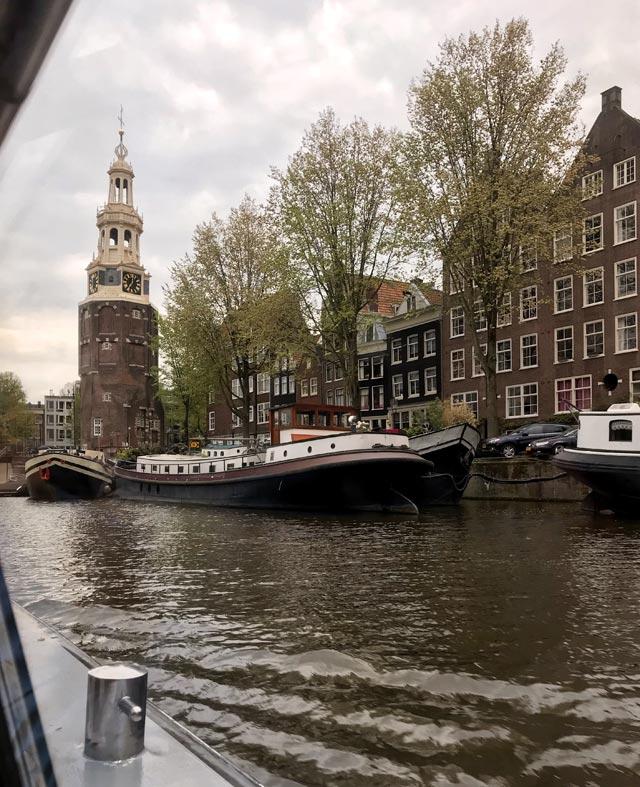 La crociera sui canali è una delle cose da fare a Amsterdam