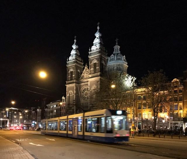La notte è perfetta per scattare meravigliose foto ad Amsterdam