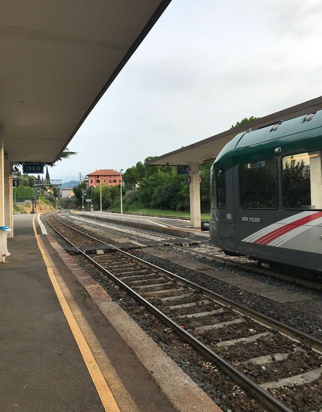 La stazione di Iseo è il punto di partenza dei tour con il Treno dei Sapori
