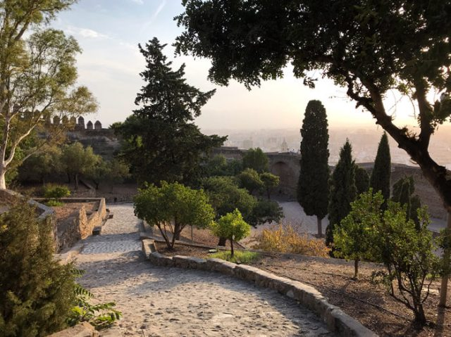 Il Castillo de Gibralfaro è una delle cose da visitare a Malaga