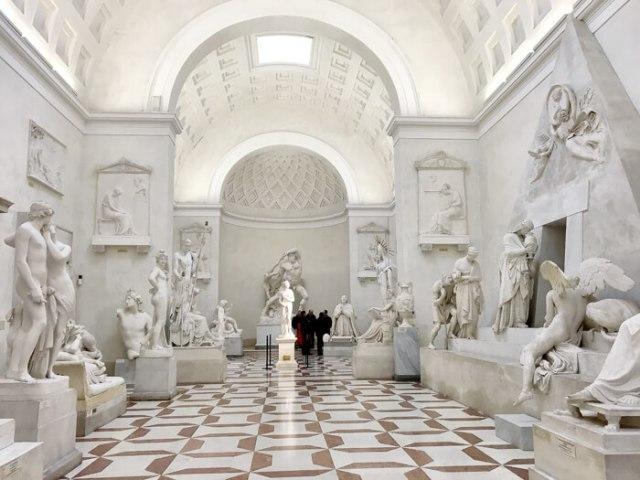 La Gipsoteca Canoviana a Possagno conserva le copie delle opere di Antonio Canova