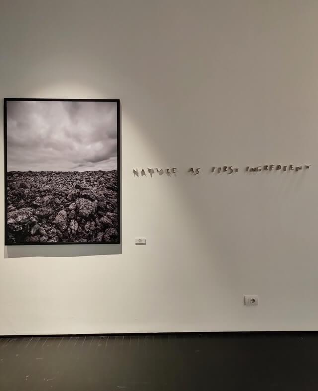 L'Alfio Ghezzi Bistrot del Mart museo ha atmosfera artistica e ovattata
