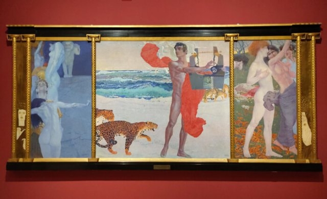 Luigi Bonazza è un artista italiano che realizzò opere in stile secessionista viennese