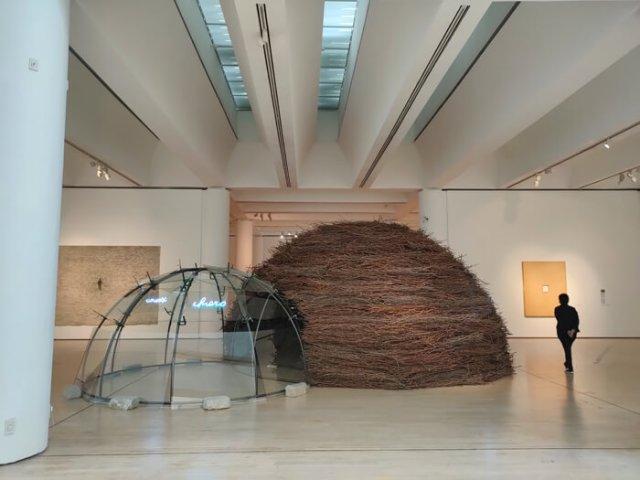Il Mart di Rovereto ha tante opere d'arte contemporanea curiose