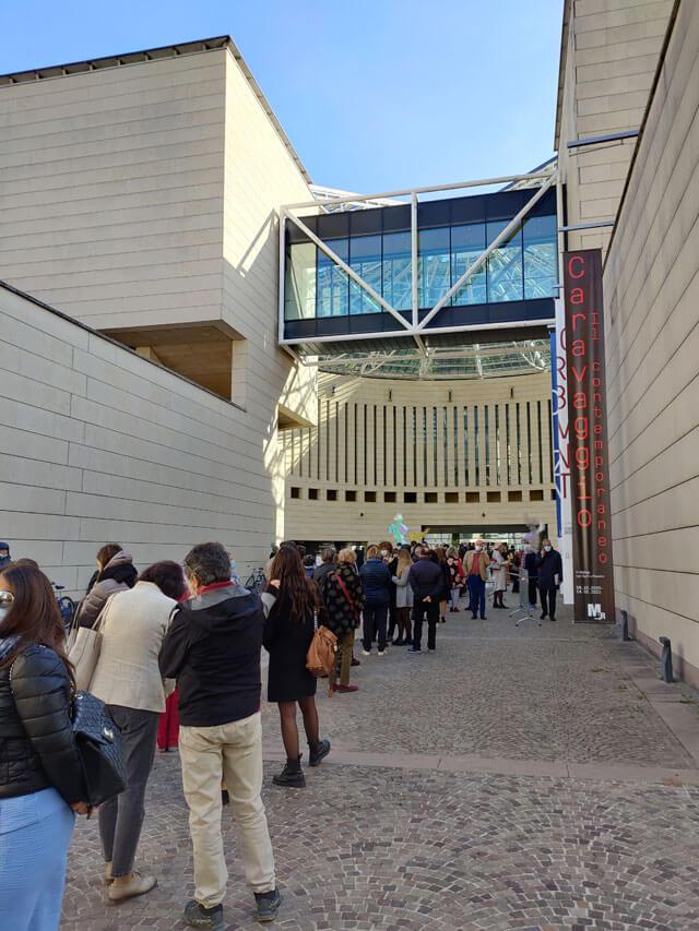 """Al Mart di Rovereto è stata inaugurata la mostra """"Caravaggio il contemporaneo"""""""
