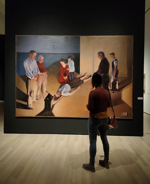 I Naufraghi di Cagnaccio di San Pietro sono alla mostra di Caravaggio al Mart