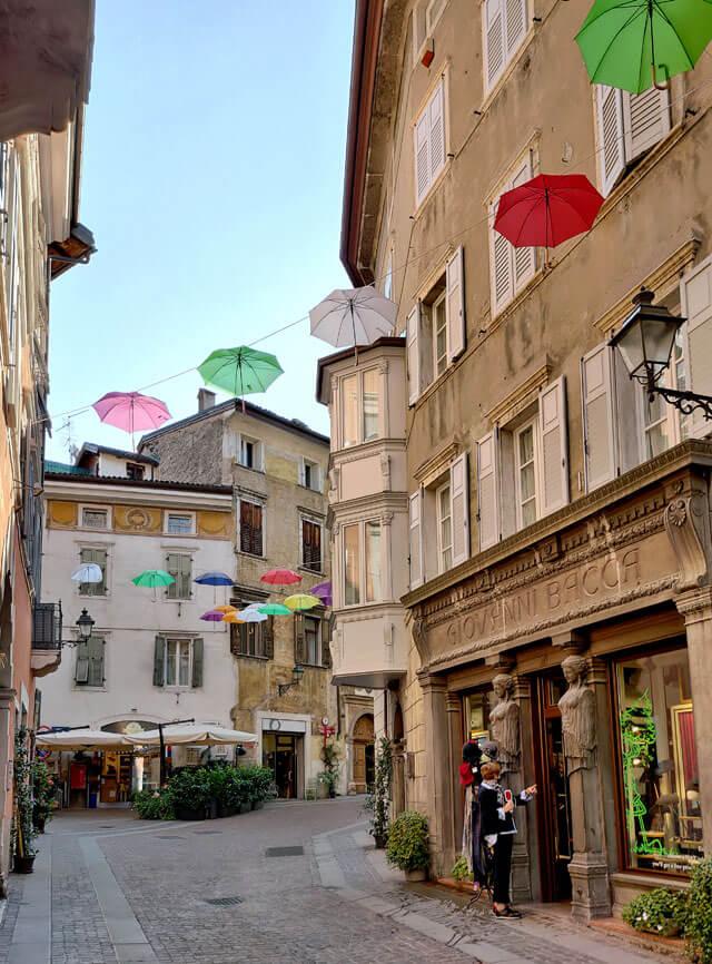 Rovereto ha un centro storico stupendo con negozi storici
