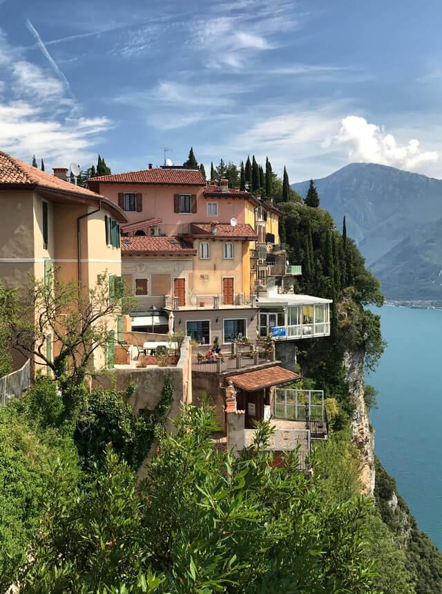 Tremosine è uno dei borghi più belli d'Italia in Lombardia.