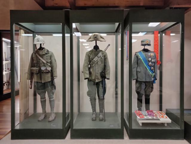 Il Museo della Guerra è ospitato nel Castello di Rovereto in Trentino