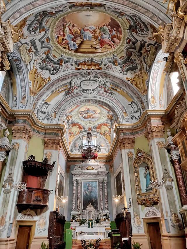 La chiesa di San Bartolomeo a Vesio è magnifica!