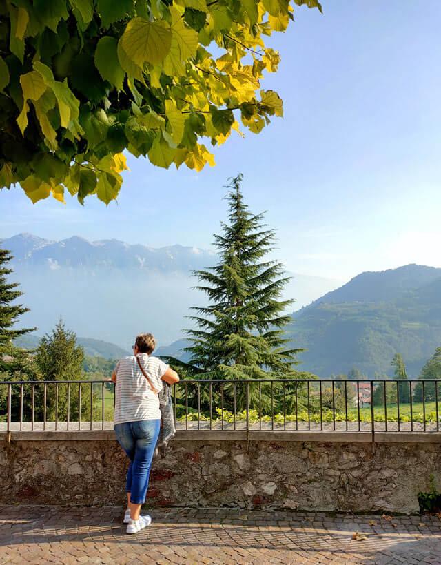 Vesio di Tremosine ha una bella terrazza panoramica