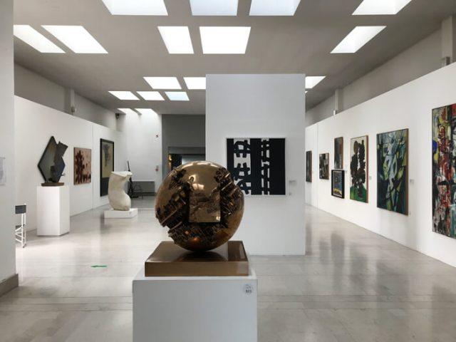 Nei piani superiori il Museo Revoltella ospita la Galleria d'arte moderna