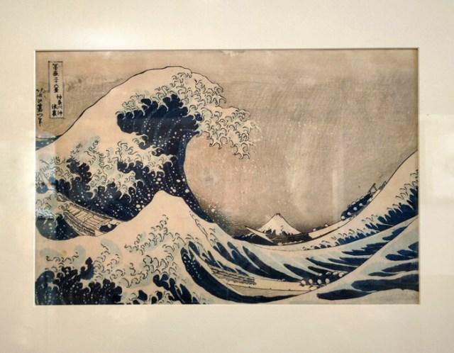 La grande onda di Kanagawa di Hokusai è al Museo d'Arte Orientale di Trieste