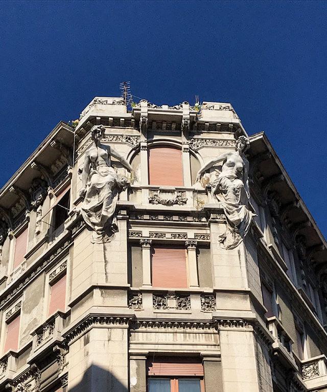 Trieste è piena di palazzi in stile liberty come Casa Polacco