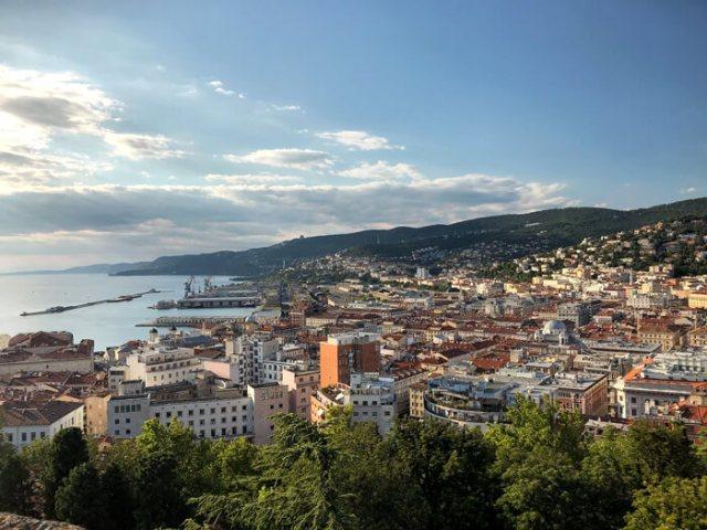 Il Castello di San Giusto offre un bel panorama su Trieste