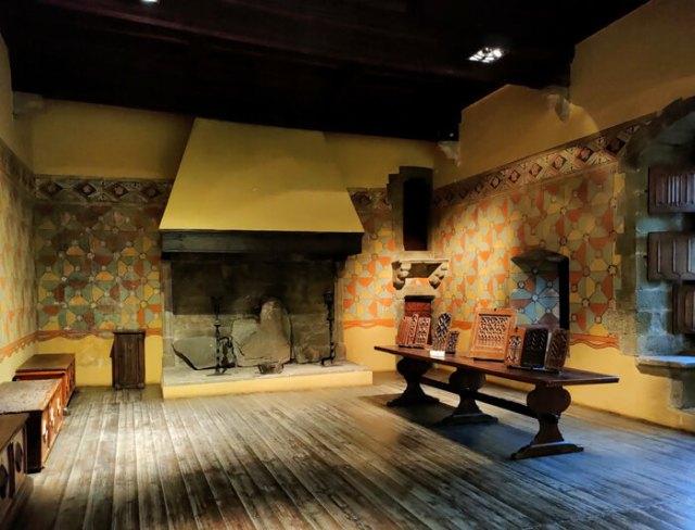 La Sala Baronale è la parte più bella del Castello di Fénis