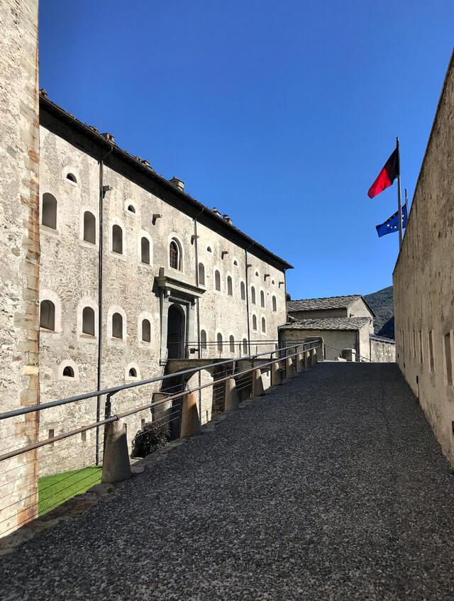 Il Forte di Bard è uno dei castelli più belli della Valle d'Aosta