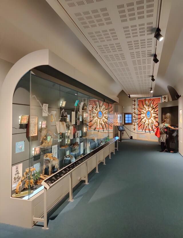 Il Museo delle Alpi si trova nel Forte di Bard in Valle d'Aosta