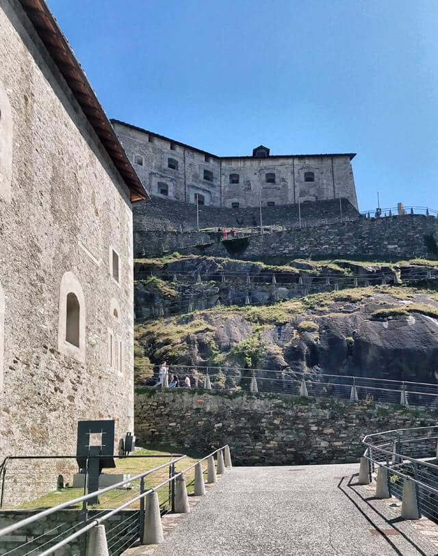 Costa vedere in Valle d'Aosta? Il Forte di Bard