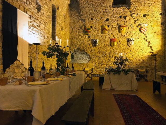 Il Castello dell'Aquila è una dimora storica disponibile per feste e eventi