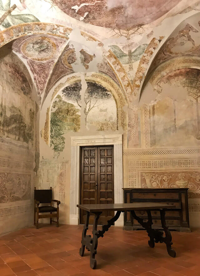 Il Castello Malaspina di Massa ha affascinanti affreschi medievali