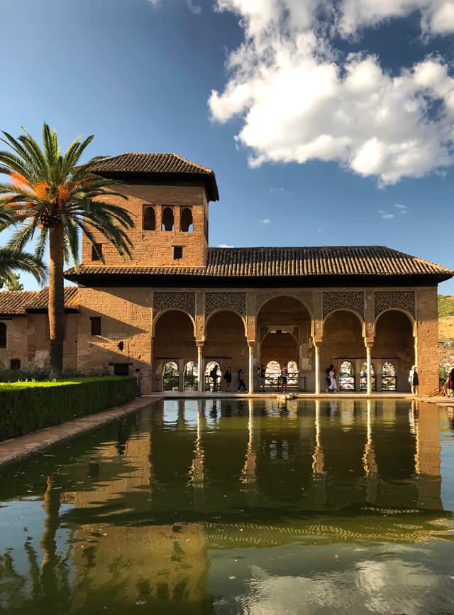 Il Partal è una meraviglia dell'Alhambra di Granada