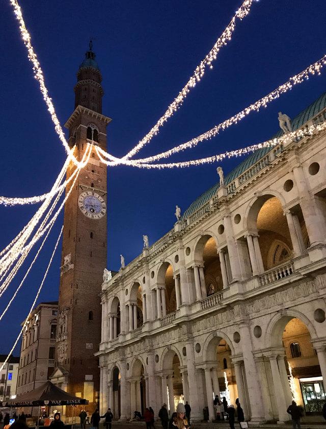 Vicenza e Piazza dei Signori sono tra i posti più belli del Veneto