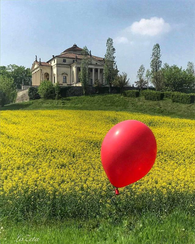 Villa Capra la Rotonda è la più bella villa palladiana del Veneto