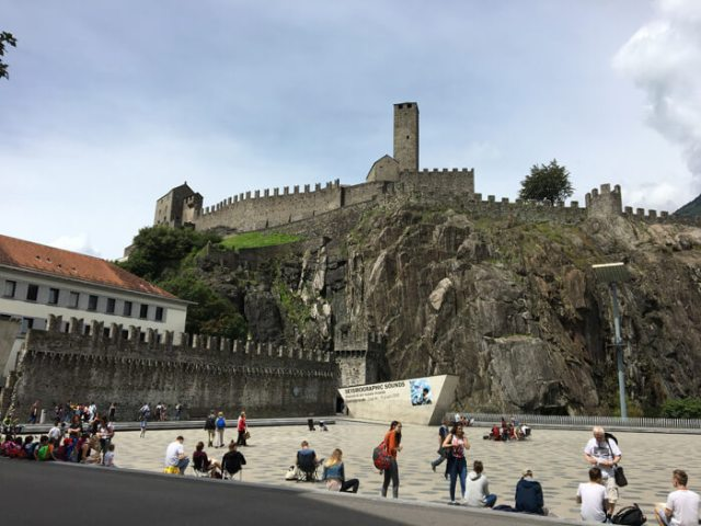 Posti belli in Ticino? Castelgrande, il castello che domina Bellinzona dall'alto