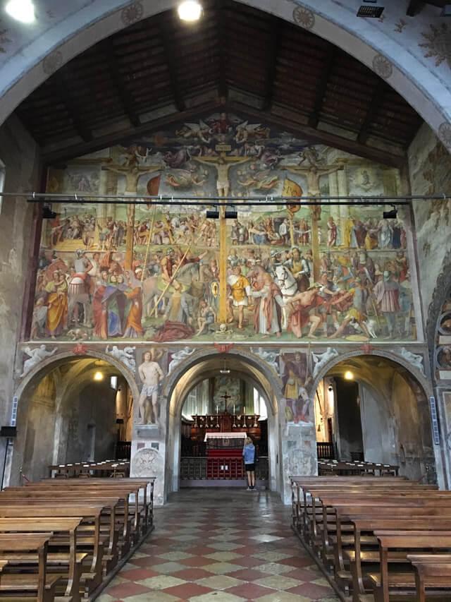 In Santa Maria degli Angioli a Lugano c'è Passione e Crocifissione di Bernardino Luini