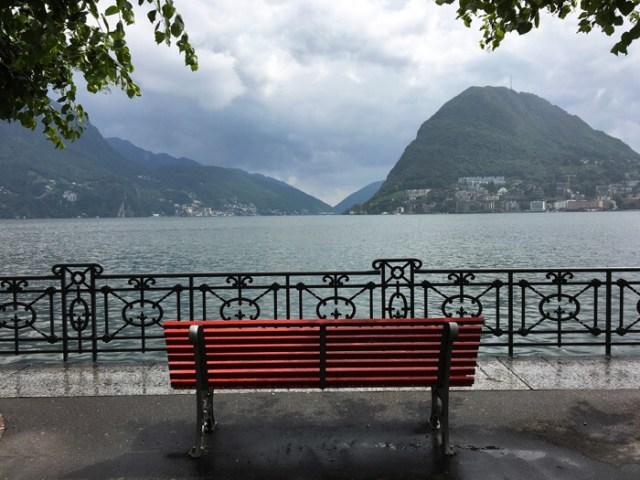Il Lungolago di Lugano è uno dei posti da vedere in Ticino