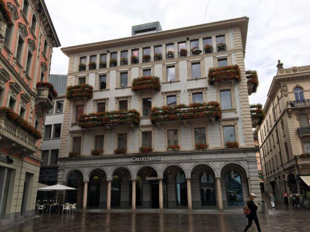 Piazza Riforma è la piazza più bella di Lugano in Ticino