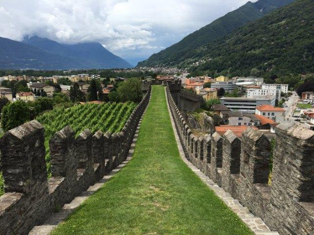 Cosa vedere a Bellinzona in Ticino? Il Castelgrande e la sua Murata