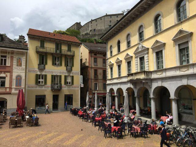 Bellinzona è perfetta per una gita fuori porta in Ticino da Milano