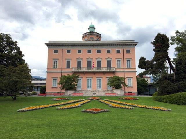 Il Parco Ciani a Lugano è uno dei posti belli del Ticino