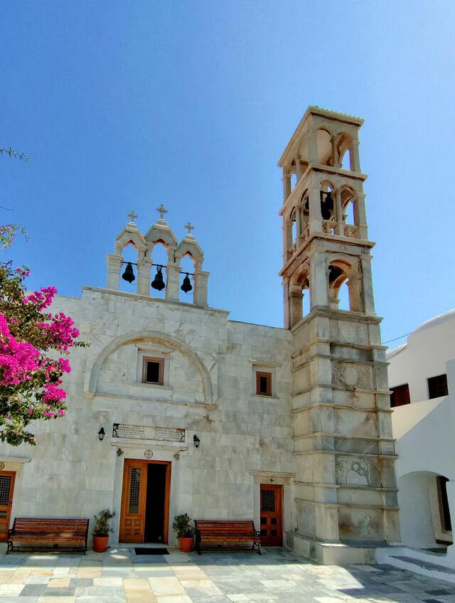 Cosa visitare a Mykonos? Il monastero di Ano Mera