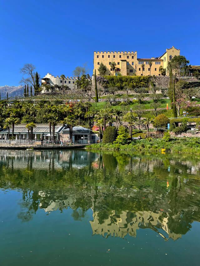 Castel Trauttmansdorff è al centro dei giardini di Sissi, a Merano