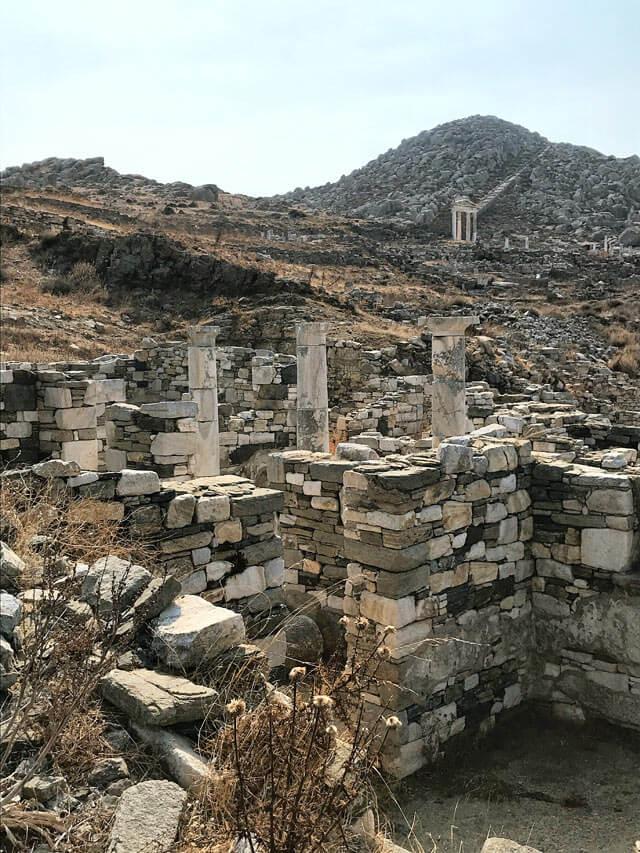 Cosa fare a Mykonos? Escursione a Delo, sito archeologico Patrimonio Unesco