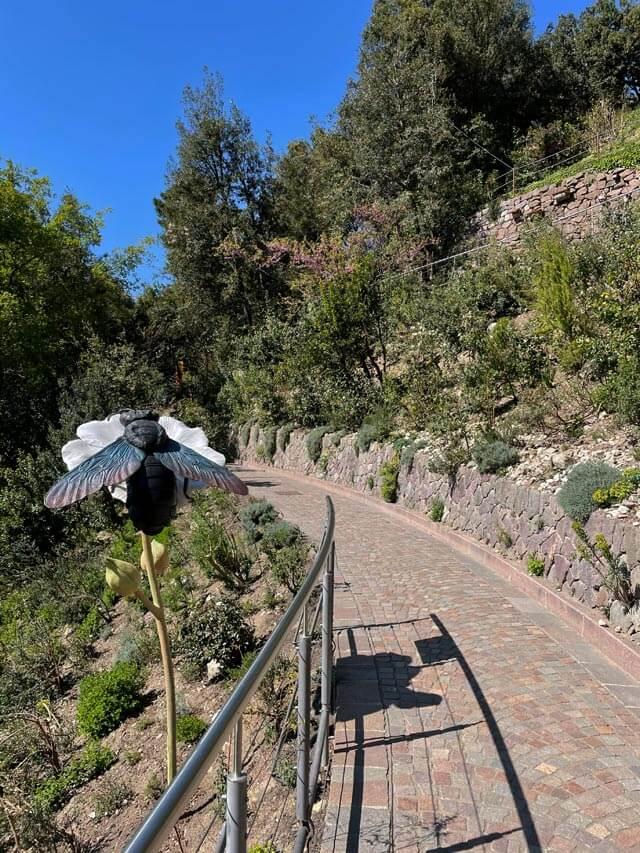 I giardini Trauttmansdorff a Merano hanno una parte con vegetazione mediterranea