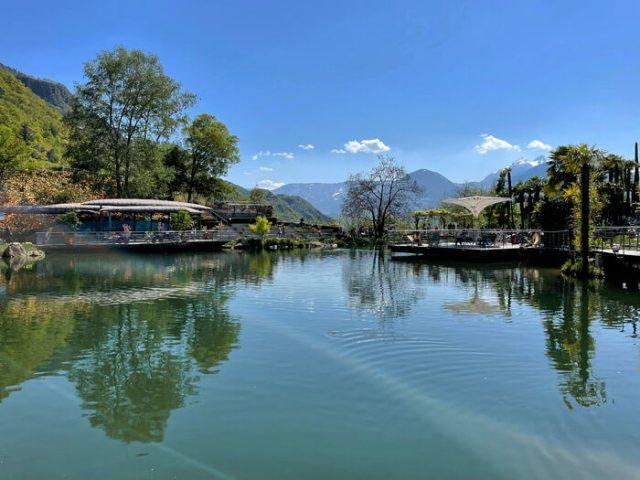 Il Laghetto delle Ninfee è il posto più bello dei giardini Trauttmansdorff a Merano