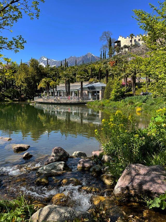 I Giardini Trauttmansdorff sono uno dei posti belli in Alto Adige