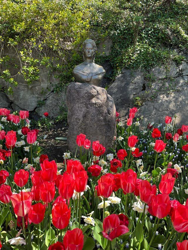 I giardini di Castel Trauttmansdorff sono noti come i giardini di Sissi