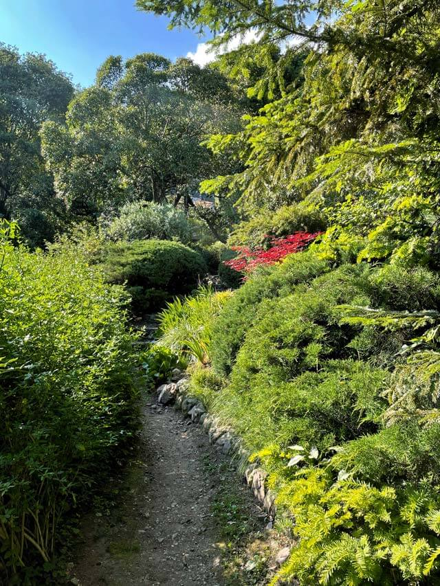 Il Giardino della Valle è un parco verde di Cernobbio