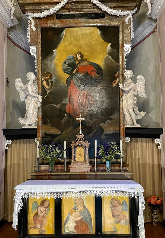 L'Oratorio della Madonna delle Grazie è da vedere a Cernobbio