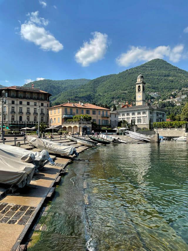La Riva di Cernobbio è uno dei posti più belli del Lago di Como
