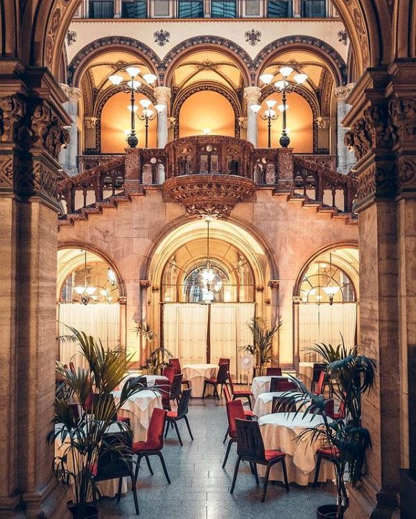 Il Café Central Wien è il caffè più bello di Vienna da vedere