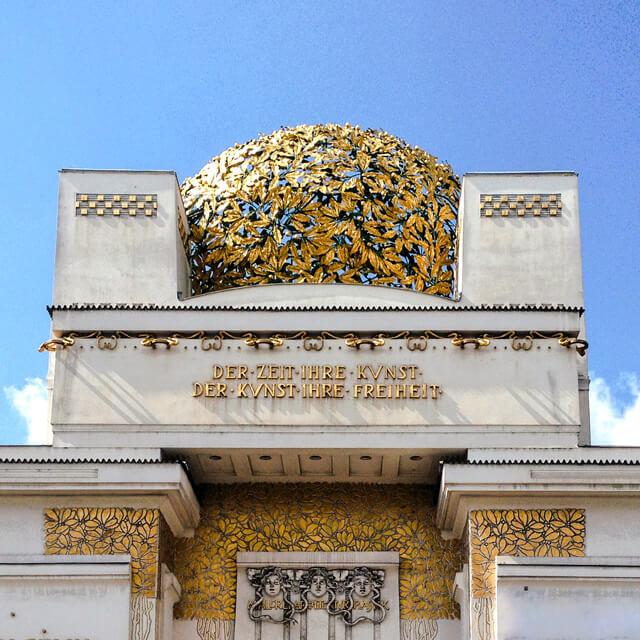 Il Palazzo della Secessione di Vienna è una meraviglia dello stile Jugendstil