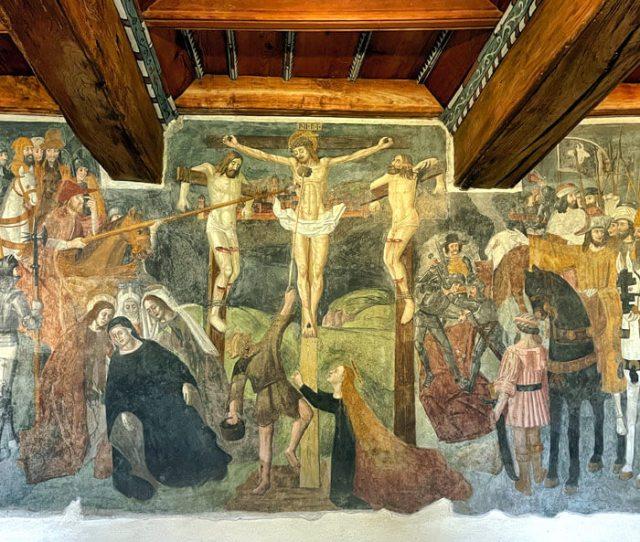 Arte nelle Langhe? Visita l'Oratorio di San Francesco a Santa Vittoria d'Alba