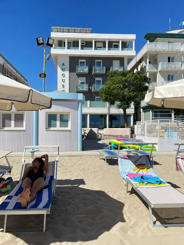 Per la vacanza a Bellaria-Igea Marina ho scelto l'Hotel Augusta